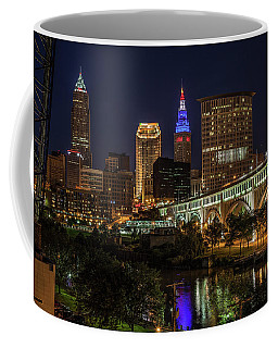 Cleveland Nightscape Coffee Mug