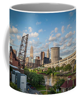 Cleveland Skyline Vista Coffee Mug