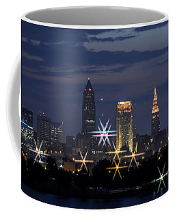 Cleveland Starbursts Coffee Mug