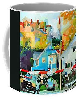 Cleveland Street Gloucester, Ma Coffee Mug