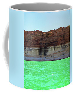 Cliff At Lake Powell Coffee Mug
