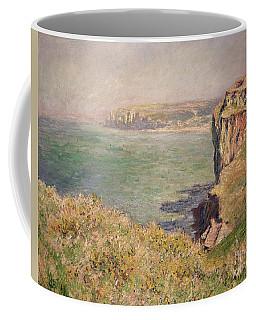 Cliff At Varengeville Coffee Mug
