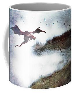 Cliff Hunt Dragon In The Fog Coffee Mug