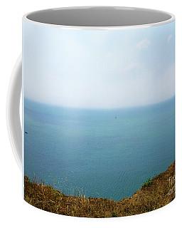 Cliff Top Sea View Coffee Mug