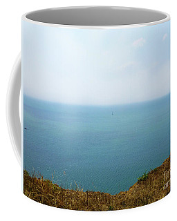 Cliff Top Sea View Coffee Mug