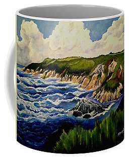 Cliffs And Sea Coffee Mug