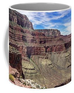 Cliffs In The Grand Canyon Coffee Mug