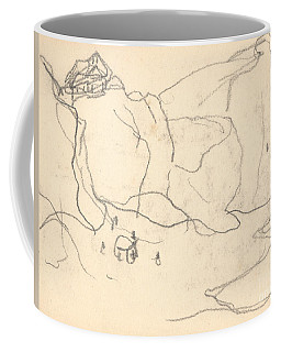 Cliffs Near Pourville-varengeville Coffee Mug