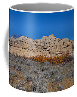 Coffee Mug featuring the photograph Cliffs Of Hoodoos by Fran Riley