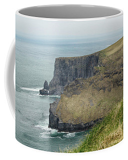 Coffee Mug featuring the photograph Cliffs Of Moher 1 by Marie Leslie