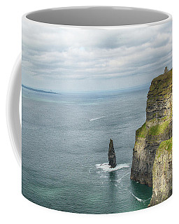 Cliffs Of Moher 3 Coffee Mug by Marie Leslie