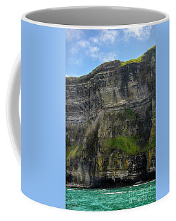 Coffee Mug featuring the photograph Cliffs Of Moher From The Sea Close Up by RicardMN Photography