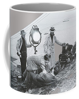Clifton Young And Bogie Fight To The Death Dark Passage 1947-2016 Coffee Mug
