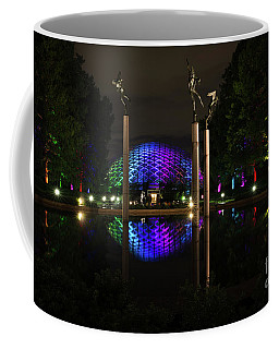 Coffee Mug featuring the photograph Climatron 2017 by Andrea Silies