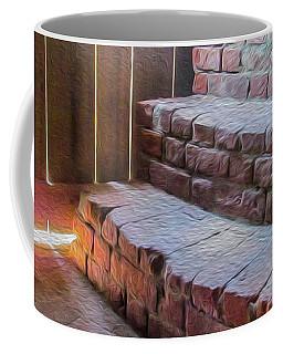 Climb The Brick Steps Of Time Coffee Mug