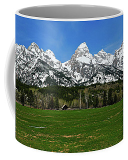 Climbers Ranch In Spring Coffee Mug