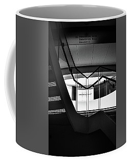 Climbing A Stairwell At The Overture Center Coffee Mug