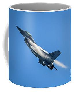 Climbing Falcon Coffee Mug