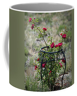 Climbing Rose Coffee Mug