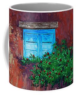 Climbing Roses Coffee Mug