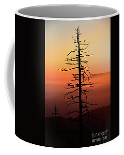 Coffee Mug featuring the photograph Clingman's Dome Sunrise by Douglas Stucky