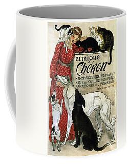 Clinique Cheron - Vintage Clinic Advertising Poster Coffee Mug