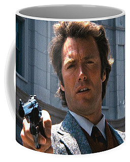 Clint Eastwood With 44 Magnum Dirty Harry 1971 Coffee Mug