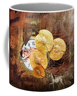 Clock Girl Coffee Mug
