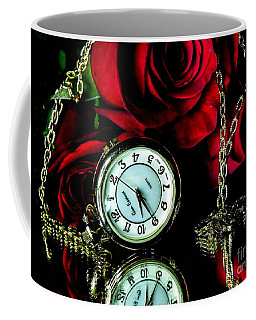 Clock-rose Coffee Mug