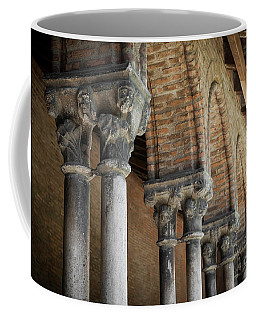 Coffee Mug featuring the photograph Cloister Columns, Couvent Des Jacobins by Elena Elisseeva