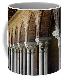 Coffee Mug featuring the photograph Cloister, Couvent Des Jacobins by Elena Elisseeva