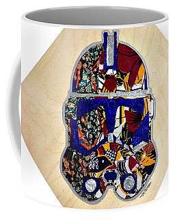 Clone Trooper Star Wars Afrofuturist Coffee Mug by Apanaki Temitayo M
