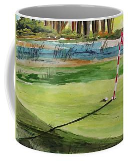 Close At The Eleventh Hole Coffee Mug