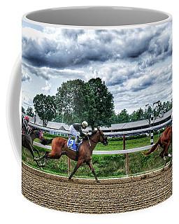 Close Competition Coffee Mug
