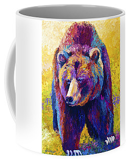 Close Encounter - Grizzly Bear Coffee Mug