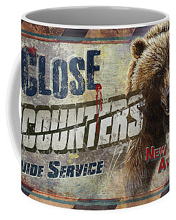 Close Encounters Bear Coffee Mug