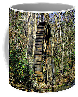 Closeup Of Iron Water Wheel Coffee Mug