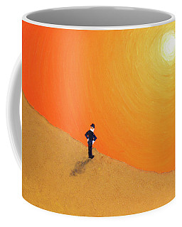 Close To The Edge Coffee Mug