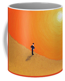 Close To The Edge Coffee Mug by Thomas Blood
