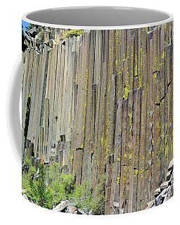 Close-up Devils Postpile Coffee Mug