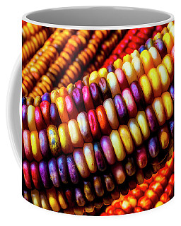 Close Up Indian Corn Coffee Mug