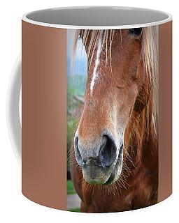 Close - Up Of A Horse Coffee Mug