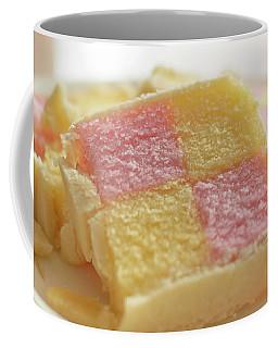 Coffee Mug featuring the photograph Close Up Of Battenberg Cake B by Jacek Wojnarowski