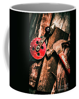 Close Up Of Old Tools Coffee Mug
