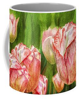 Close Up Tulips Coffee Mug