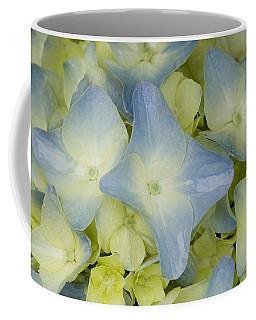 Close View Of Hydrangea Flower Coffee Mug