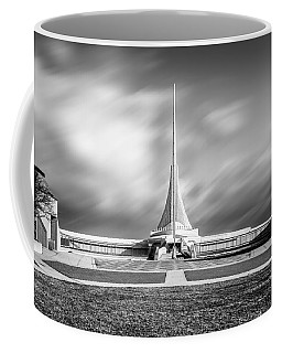 Coffee Mug featuring the photograph Closed Sails by Steven Santamour