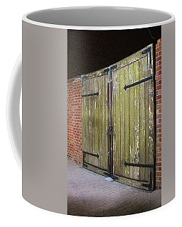 Coffee Mug featuring the photograph Closed Until Tomorrow by Viktor Savchenko