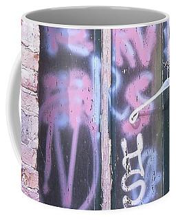 Closed Window And Hanger Coffee Mug