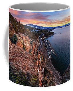 Closer To The Edge Of Cave Rock Coffee Mug